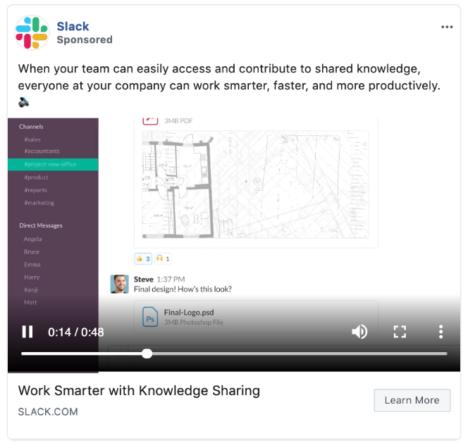 facebook b2b advertising
