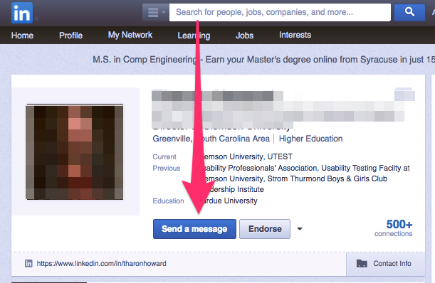 linkedin inmail examples