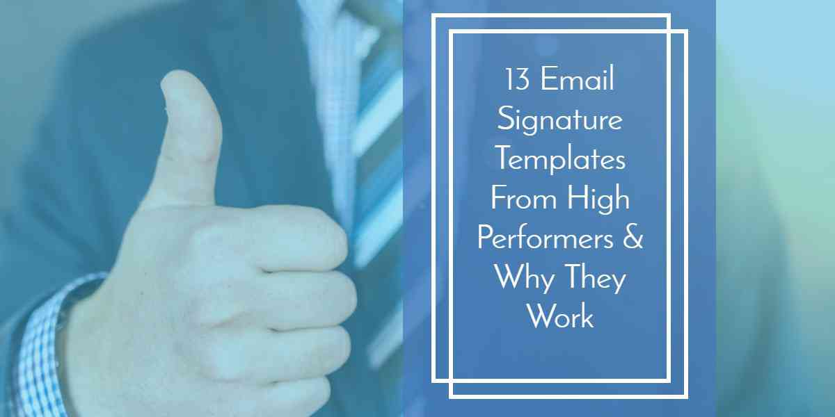 A Definitive Guide on Creating a Professional Email Signature Template